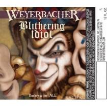 Weyerbacher Blithering Idiot Ale Sixtel Keg 5.16 Gal