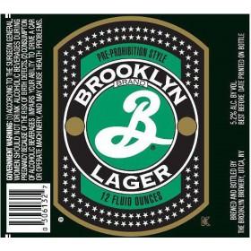 Brooklyn Lager Sixtel Keg 5.16 Gal