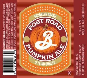 Brooklyn Post Road Pumpkin Ale Sixtel Keg 5.16 Gal