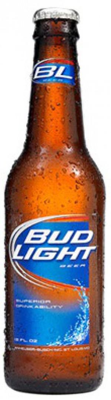 Bud Light Bottles 12oz - 24 Pack