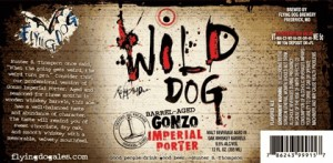 Flying Dog Aged Gonzo (Wild Dog Barrel) Sixtel Keg 5.16 Gal