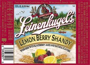 Leinenkugel Lemon Berry Shandy Full Keg 15.5 Gal