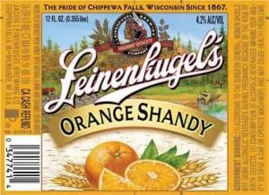 Leinenkugel Orange Shandy Full Keg 15.5 Gal