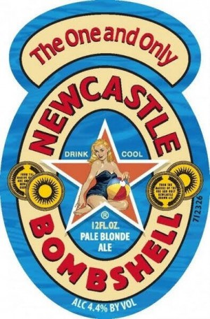 Newcastle Bombshell Pale Blonde Ale Full Keg 15.5 Gal