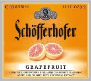 Schofferhofer Hefeweizen Grapefruit Full Keg 15.5 Gal