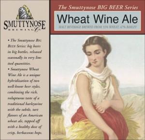 Smuttynose Wheat Wine Sixtel Keg 5.16 Gal